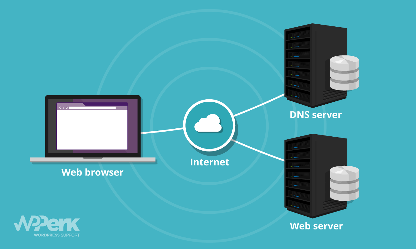 Website server, hosting and DNS explained